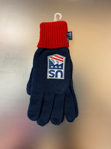 Team USA Official Gloves 9 1/2''x 4'' Knit Olympics Ski & Snowboarding