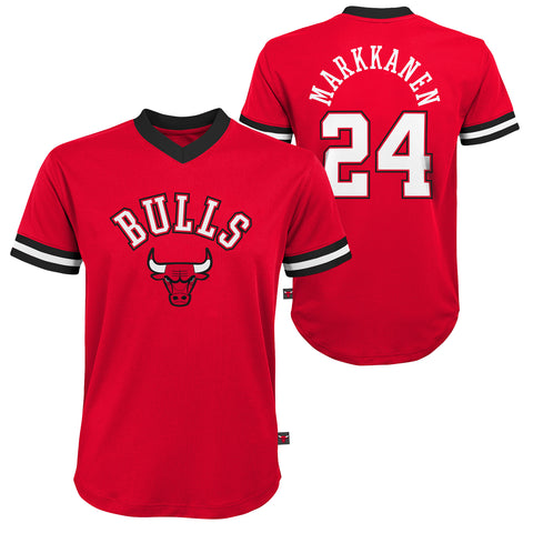 Chicago Bulls Youth #24 Markkanen Short Sleeve Tee