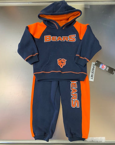 Chicago Bears NFL Infant and Toddler 2 Piece -Hoodie and Pants