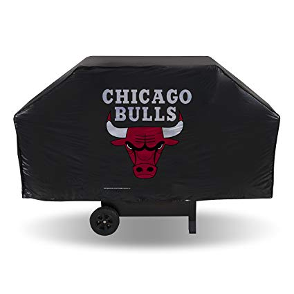 "Chicago Bulls Grill Cover 68"" x 21"" x 35"" Fits Most Large Grills"