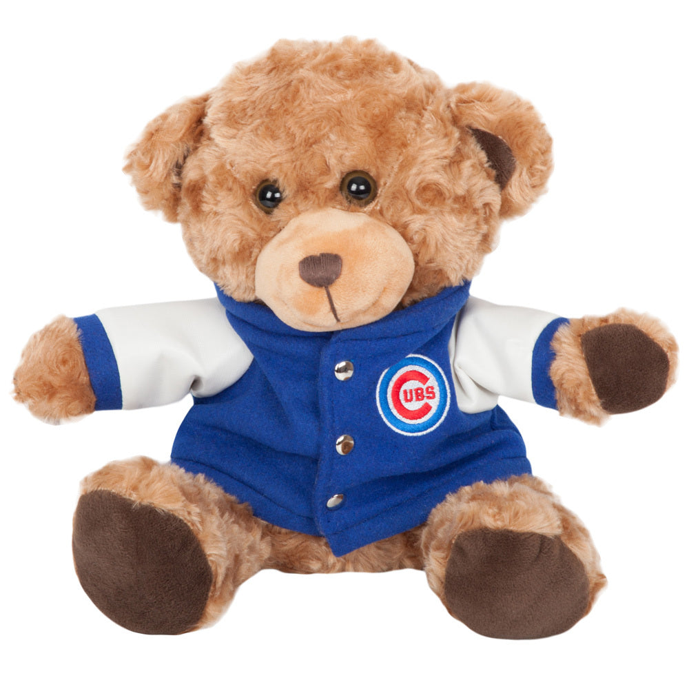 Chicago Cubs Plush Bear with Jacket