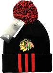 Chicago Blackhawks NHL Adidas Team Colors Cuffed Hat