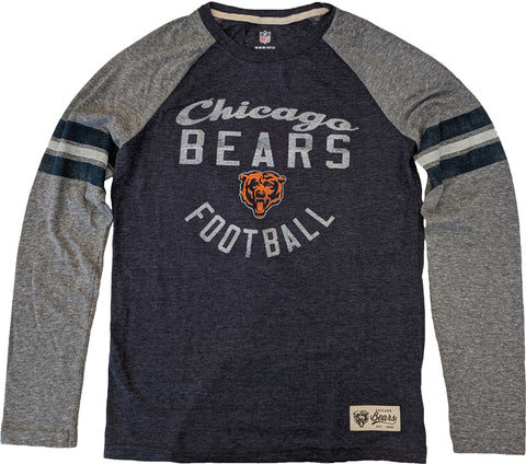 Youth Chicago Bears Football Legacy Collection Raglan