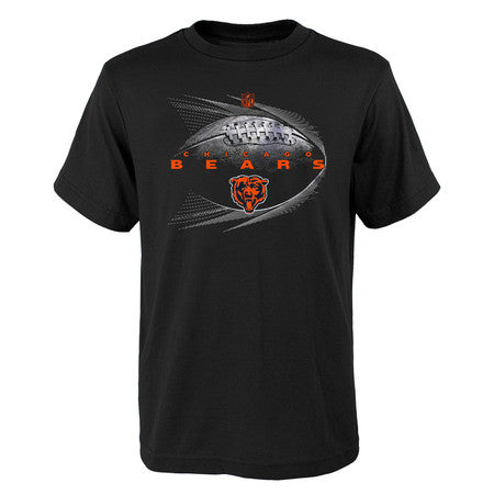 Chicago Bears Youth  NFL Jet Stream Performance Short Sleeve Tee