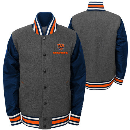 Chicago Bears Youth Outerstuff NFL Letter Man Varsity Jacket