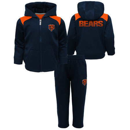 Chicago Bears Kids NFL Play Action Performance 2 Piece Fleece Set