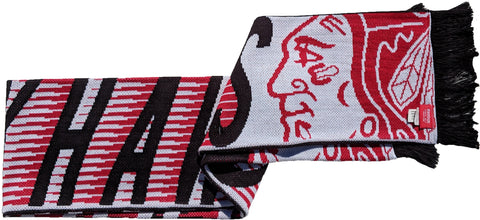 Reebok Chicago Blackhawks Jacquard Scarf