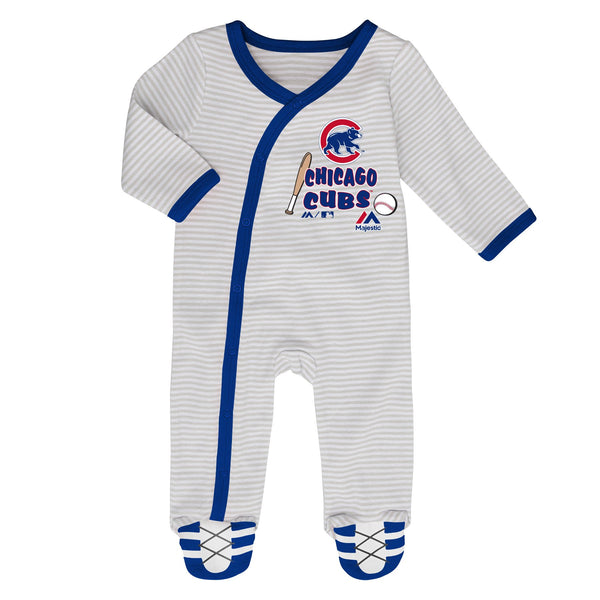 Majestic Chicago Cubs MLB Baby 2 Piece Set Coverall