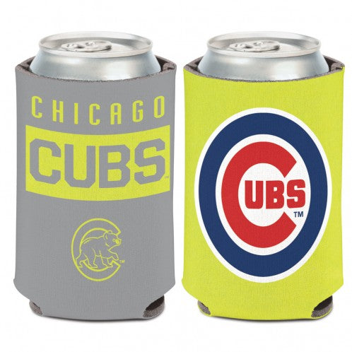 Chicago Cubs Neon Can Cooler