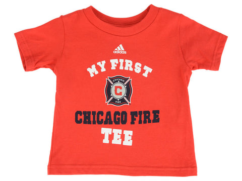 Chicago Fire MLS Red Boys My First Short Sleeve Tee