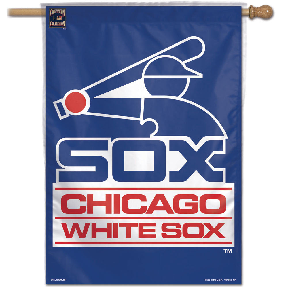 "Chicago White Sox Wincraft Cooperstown Vertical Flag 28"" x 40"""