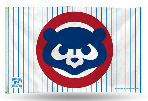 Chicago Cubs MLB 1984 Cooperstown 3' X 5' Banner Flag