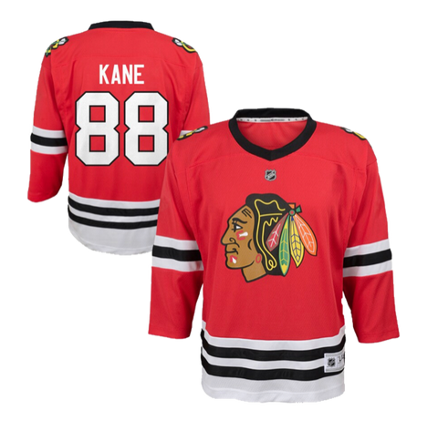 Infant Chicago Blackhawks Patrick Kane Red Replica Player Jersey
