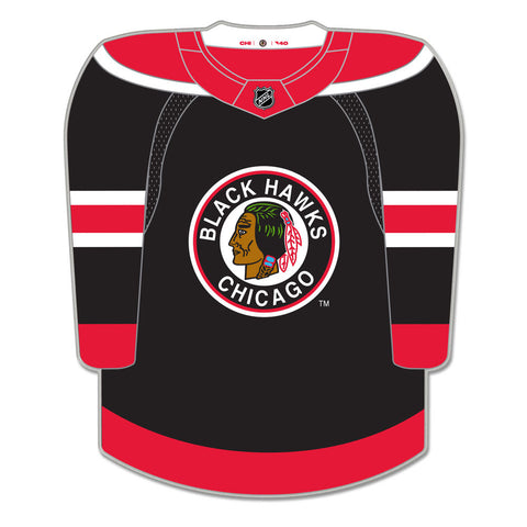 Chicago Blackhawks NHL Reverse Retro Collectible Jersey Pin
