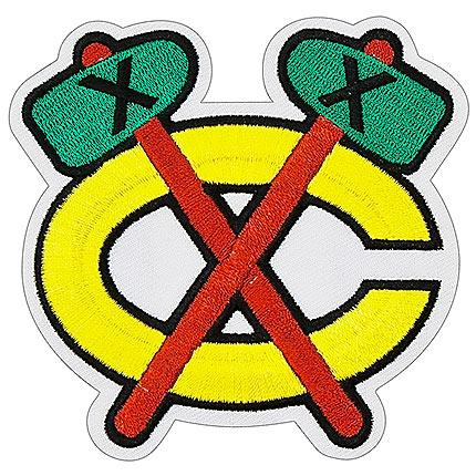 Chicago Blackhawks Away Tomahawk Logo Patch