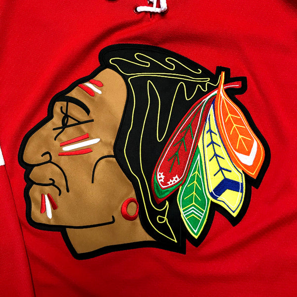 Chicago Blackhawks NHL Official CCM Throwback Premier Edge Jersey Retro Style