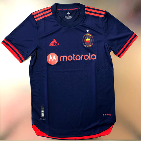 Chicago Fire MLS 2021/22 Authentic Home Jersey - Navy