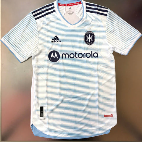 Chicago Fire MLS 2021/22 Authentic Away Jersey - White