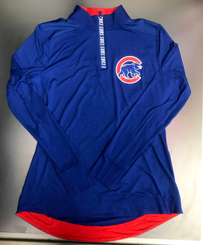 Chicago Cubs MLB Fanatics Lightweight 1/4 Zip Pullover