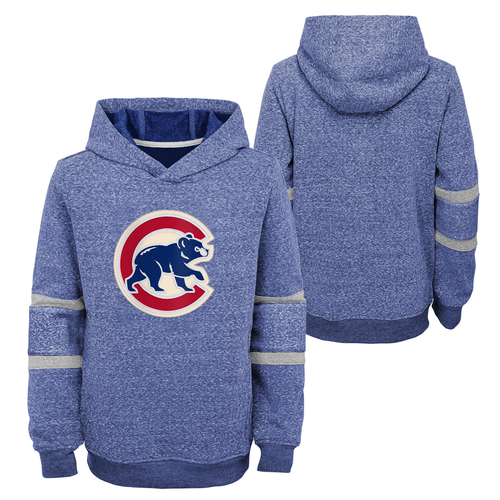 Chicago Cubs Youth The Last Out Pullover Fleece Hoodie - Blue