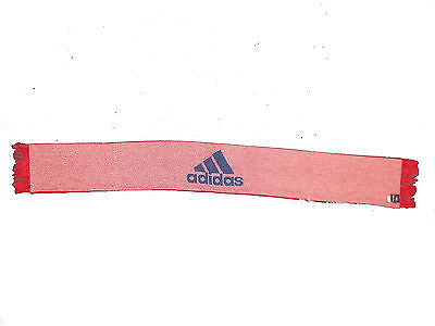 Chicago Fire Team Colors Scarf Adidas MLS Soccer Officially Licensed