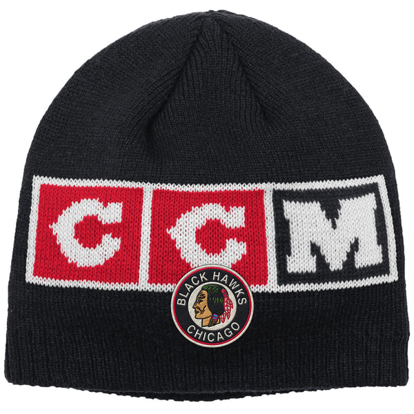 Chicago Blackhawks NHL Men's Bannie CCM Team Classic