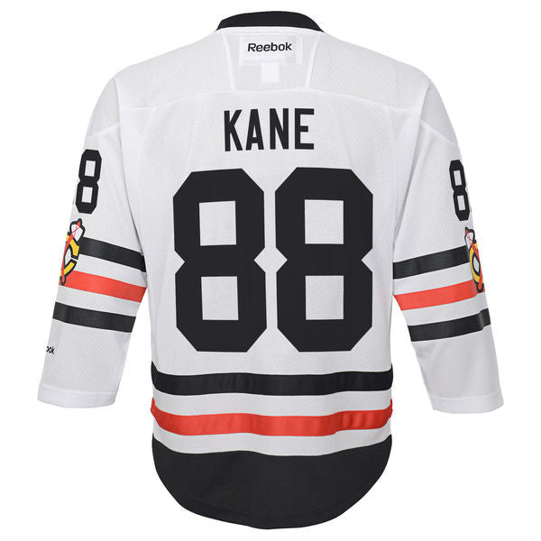 Youth Chicago Blackhawks #88 Patrick Kane 2017 Winter Classic Premier Jersey