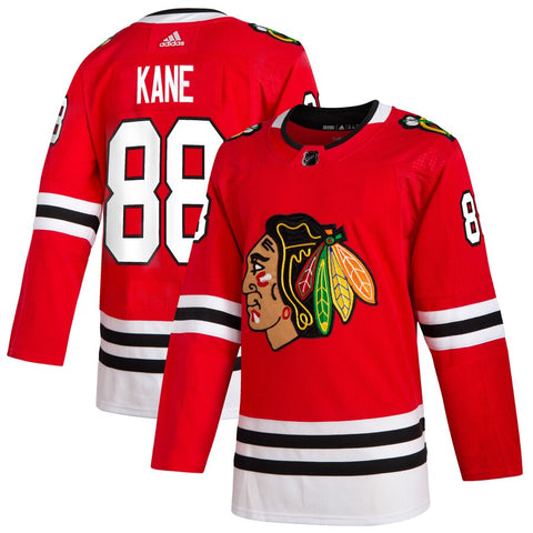 Patrick Kane Chicago Blackhawks Adidas 2019 Home Authentic Player Jersey - Red