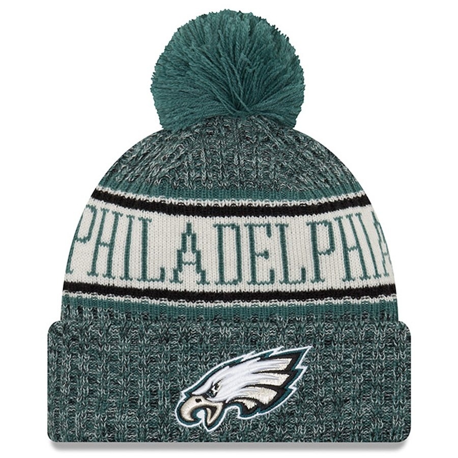 New Era Philadelphia Eagles NFL 2018 On Field Sport Knit
