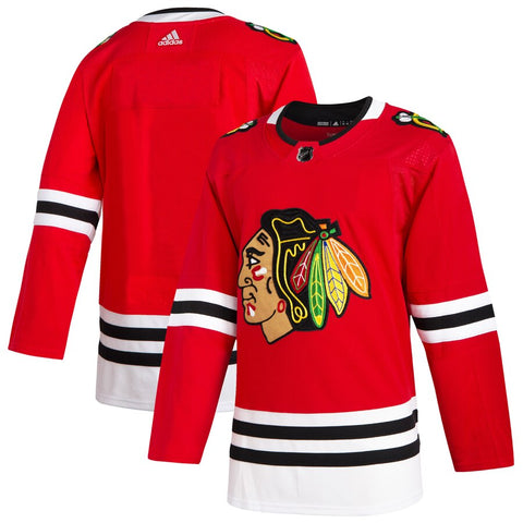 Chicago Blackhawks Adidas 2019 Home Authentic Jersey - Red