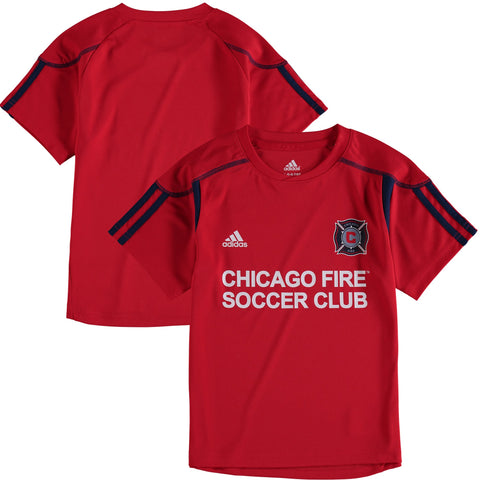 Chicago Fire adidas Red 2017 Toddler/Kids/Youth Primary Call Up Jersey