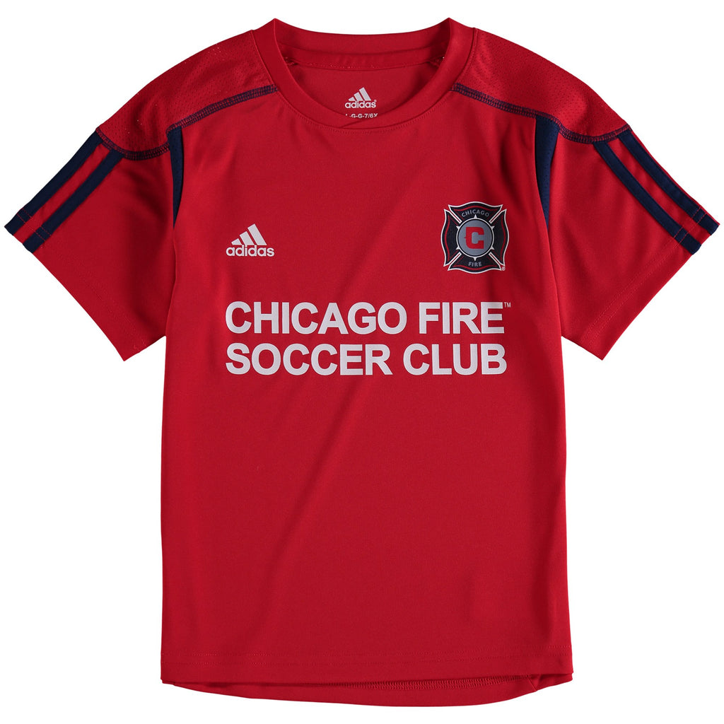 los angeles 4e781 bdc73 Preschool Chicago Fire adidas Red 2017 Toddler/Kids Primary Call Up Jersey