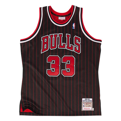 Youth Chicago Bulls NBA Mitchell & Ness Scottie Pippen 1995-96 Swingman Jersey