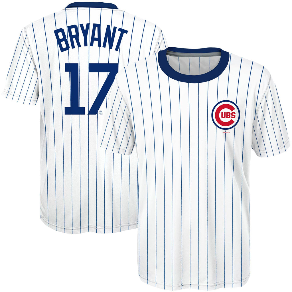 48f22d3222b Youth Chicago Cubs Kris Bryant  17 Cooperstown Sublimated Jersey T-Shi –  Sports Outlet Express
