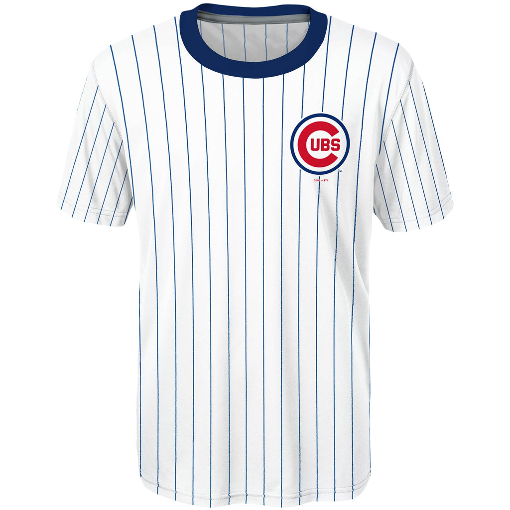 04fc0602a27 ... Youth Chicago Cubs Kris Bryant  17 Cooperstown Sublimated Jersey T-Shirt  ...