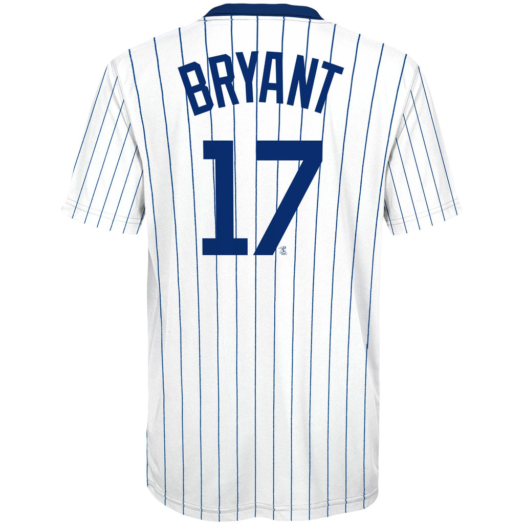 46020a33c00 Youth Chicago Cubs Kris Bryant  17 Cooperstown Sublimated Jersey T ...