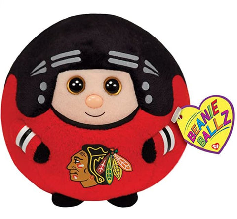 Chicago Blackhawks NHL ty Player Beanie Ballz - Red