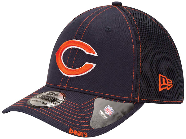 Chicago Bears New Era NFL Neo 39THIRTY Stretch Fit Cap Hat