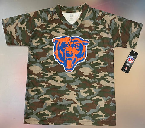 Youth Chicago Bears NFL Army V-Neck Shirt