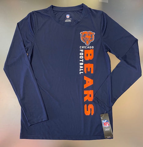 Chicago Bears NFL Youth Long Sleeve Shirt -Blue