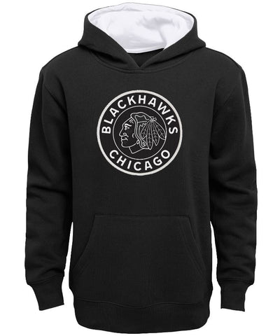 Chicago Blackhawks NHL Youth Black Alternate Logo Hoodie