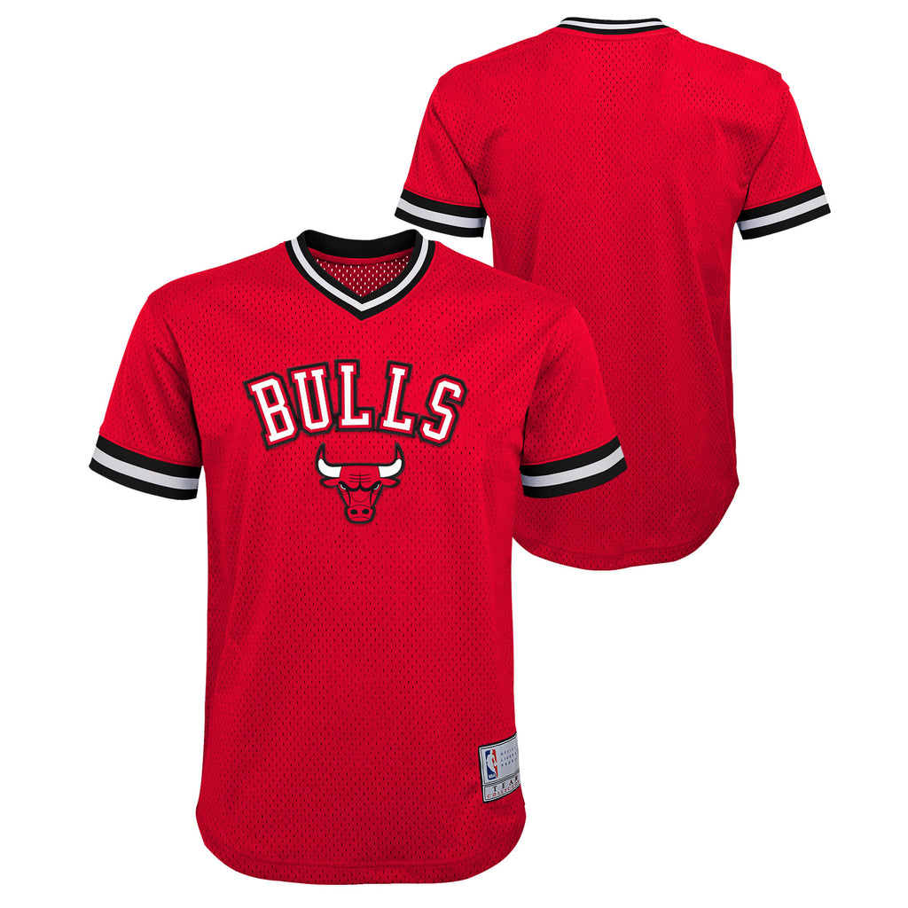 1d26ccf1f ... czech chicago bulls youth plain red short sleeved v neck stitched jersey  sports outlet express 5209d