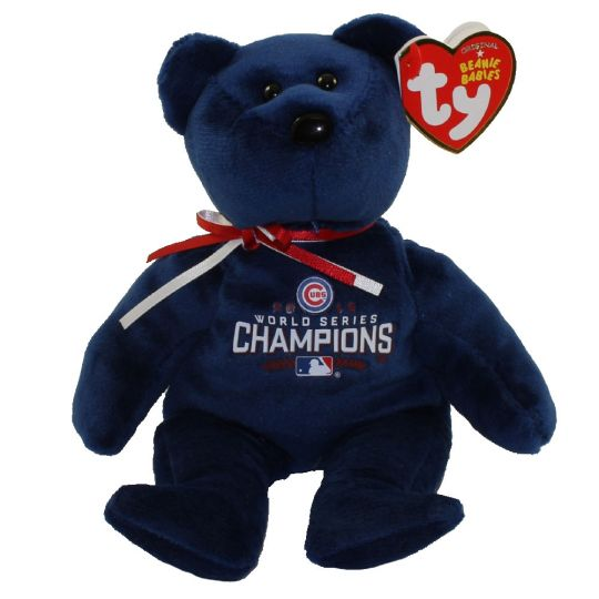 Chicago Cubs Beanie Baby 2016 World Series Champions