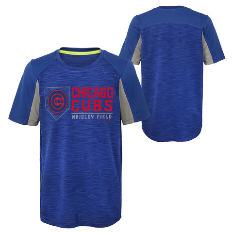 Chicago Cubs Youth Achievement Dry Tee Shirt