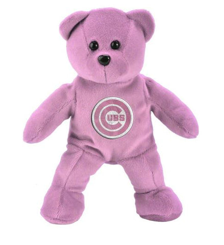 Chicago Cubs MLB FOCO Plush Team Bear - Pink