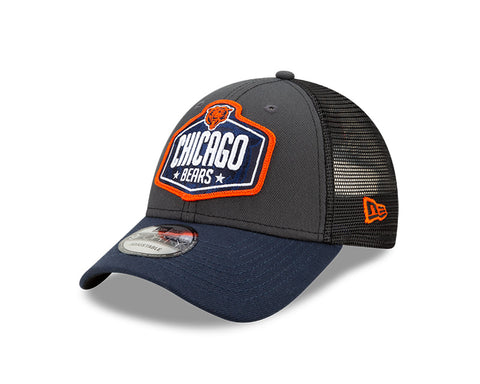 Bears New Era 9FORTY Adjustable 2021 Draft Hat