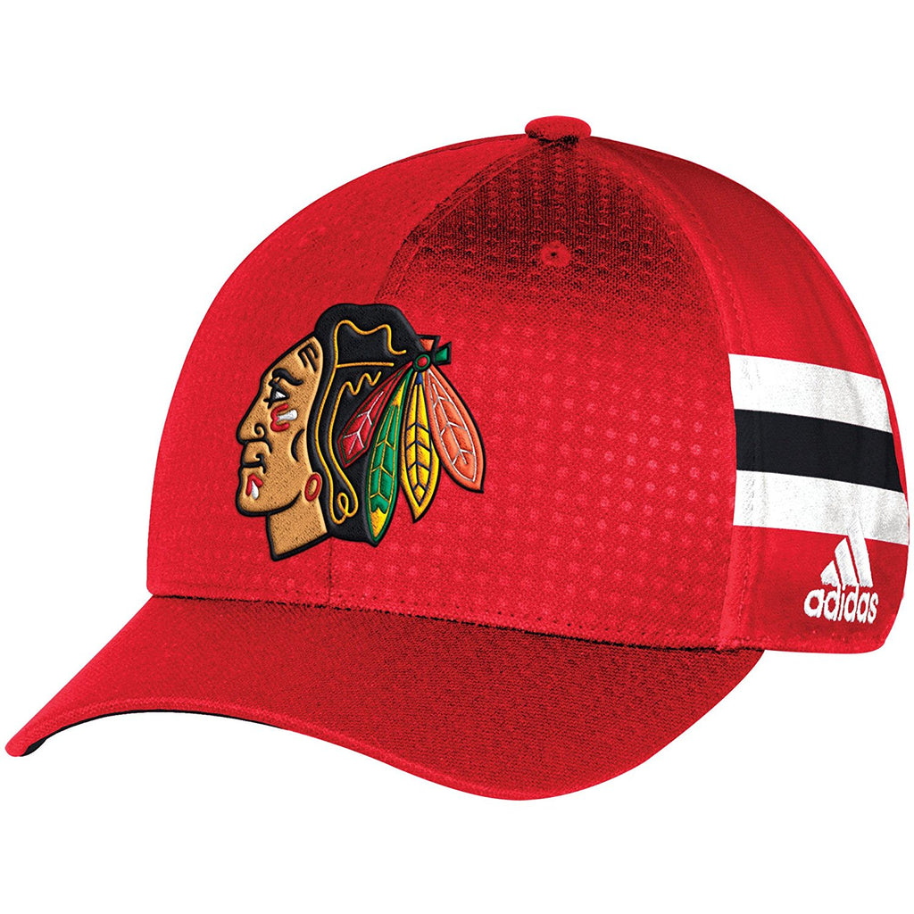 2b226b57284 Chicago Blackhawks 2017 Adidas Draft Hat Structured Flex Fit – Sports  Outlet Express