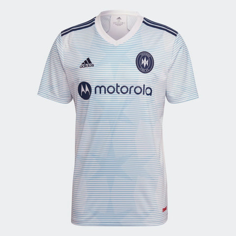 Chicago Fire MLS Adidas 2021/22 Replica Away Jersey - White
