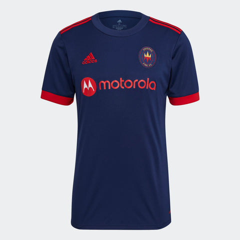 Chicago Fire MLS Adidas 2021/22 Replica Home Jersey - Navy