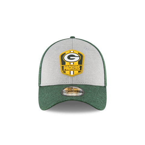 Green Bay Packers Official Sideline Away 39THIRTY Stretch Fit Hat